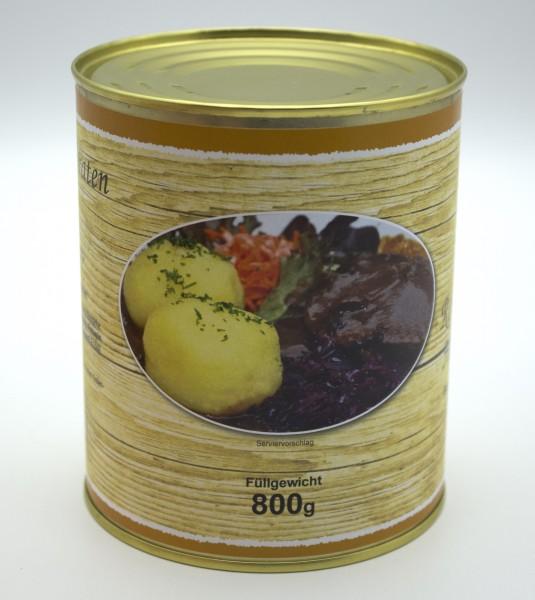 große Dosen eingelegten Sauerbraten nach Hausfrauenart